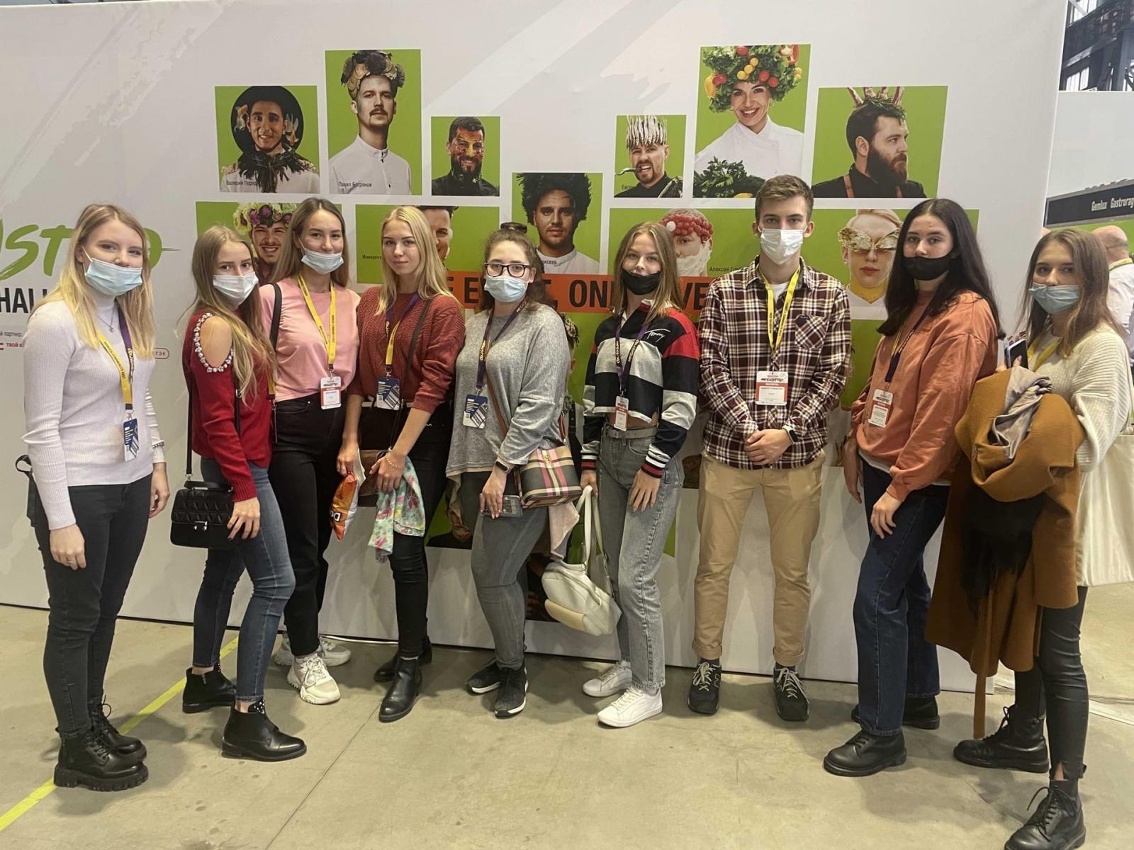 Студенты ВШБиПП – участники Международного Гастрономического Фестиваля MEGUSTRO-2021
