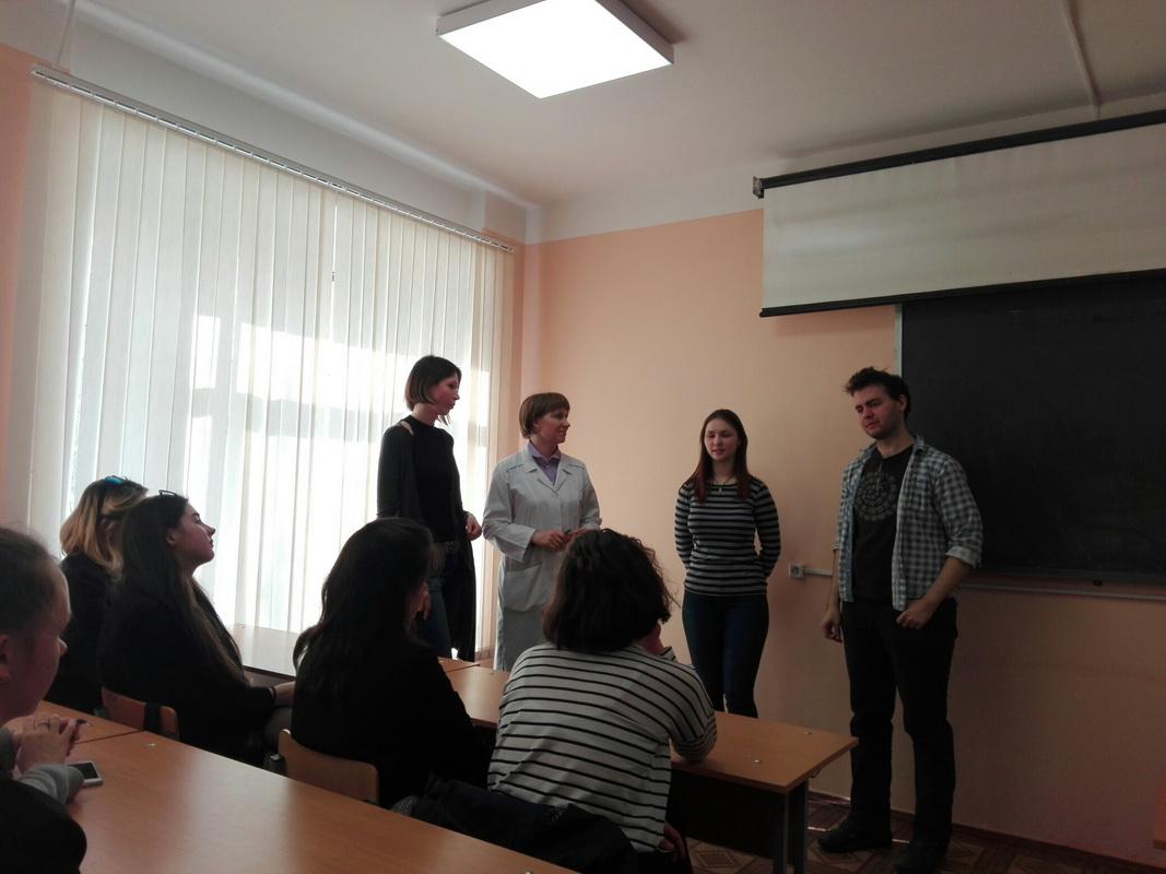 Учащиеся лицея посетили Высшую школу биотехнологии и пищевых технологий