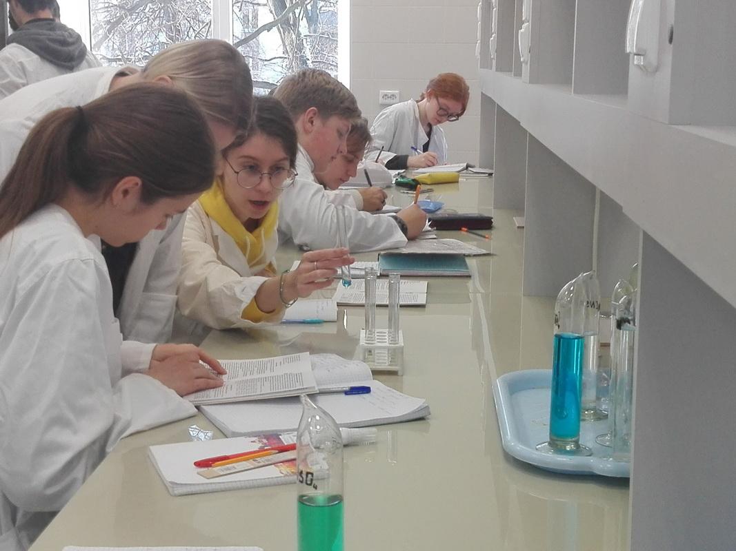 Открытие новой лаборатории «Химии и методов анализа»