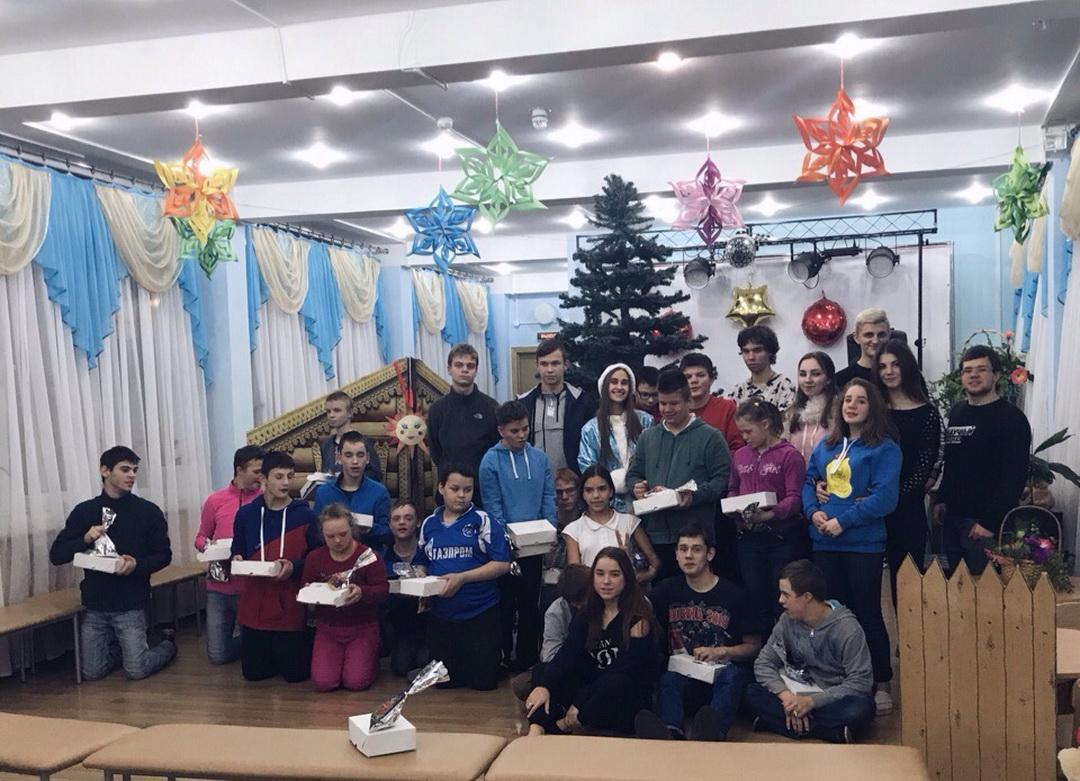 Новый год вместе с ребятами из Детского дома