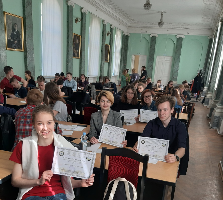 Студенты ВШБТиПТ – участники Всероссийской олимпиады по химии