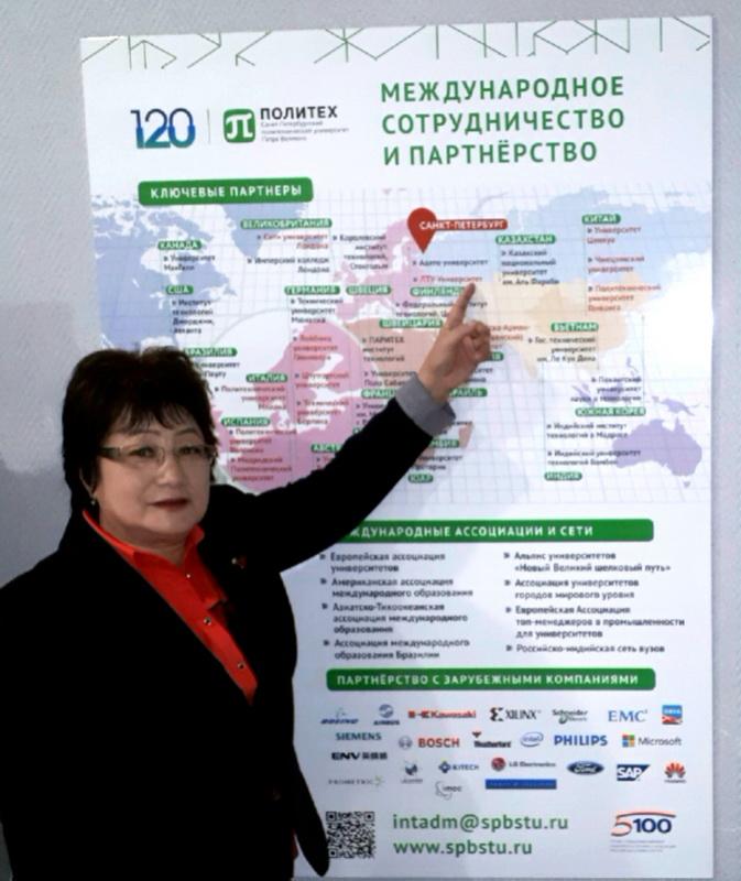 Лекции и мастер классы профессора из республики Казахстан