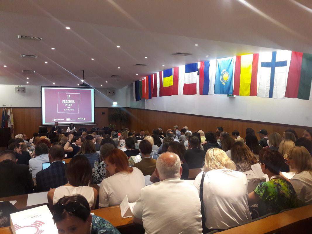 Неделя Erasmus ICM Week в г.Браганса (Португалия)