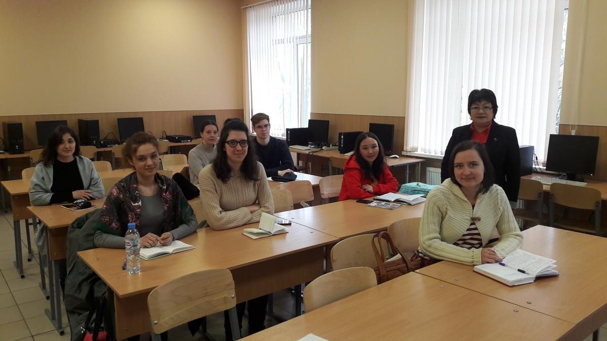 Лекции профессора из Казахстана для студентов ВШБТиПТ